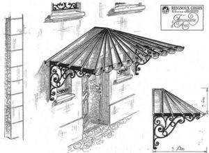 Reignoux Creations -  - Eingangsvordach