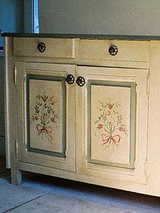 atelier de peinture décorative -  - Gemalten Möbel