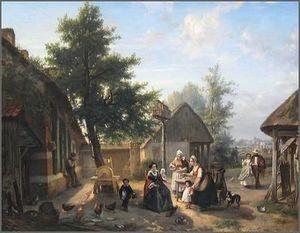 Boon Gallery -  - Ölgemelde Auf Leinwand Und Holztafel