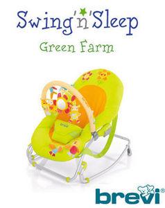 BREVI - sraietta swing'n'sleep - Babyliege