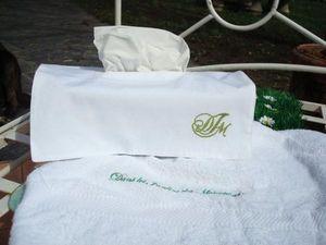Dans les Jardins des Monastères -  - Papiertaschentuch Behälter