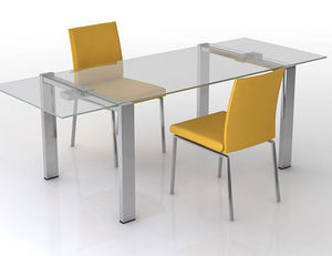 swanky design - aruba extending dining table - Ausziehbarer Tisch