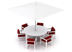 swanky design - cruz dining set - Gartengarnitur