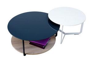 Asplund - east coffee table - Runder Couchtisch