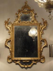 PELAZZO LEXCELLENT ANTIQUITES - venetian mirror - Venezianischer Spiegel