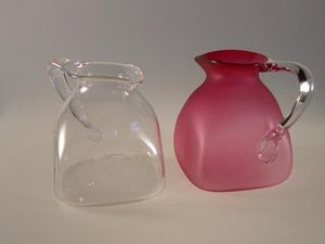 Artfull : Art For Glass - box jugs 16 cm high - Krug
