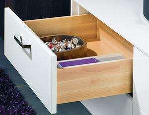 Hettich - tiroir avec coulisse invisible quadro sortie parti - Küchenschublade