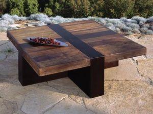 Environmental Street Furniture - santos - Couchtisch Quadratisch