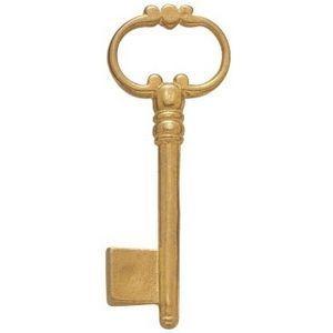 FERRURES ET PATINES - clef en laiton style louis xiv - Möbelschlüssel