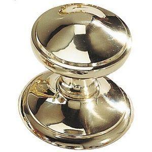 FERRURES ET PATINES - bouton de porte avec rosace en bronze pour porte d - Möbel Und Schrankknopf