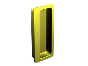 Wimove - poignee cuvette rectangulaire - 32 x 75 mm - metal - Griff