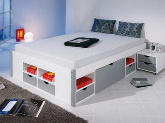 Miliboo - viggo lit 140x200 - Doppelbett Mit Bettkästen