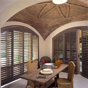 JASNO - porte persienne cintre - Klapp Lamellenfensterläden
