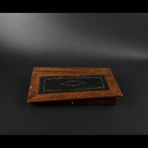 Expertissim - ecritoire rectangulaire en acajou d'époque louis - Schreibbox