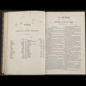 Expertissim - la sainte bible d'après la version de j.-f. oster - Altes Buch