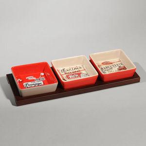 Maisons du monde - plateau 3 compartiments grignotte - Tablett