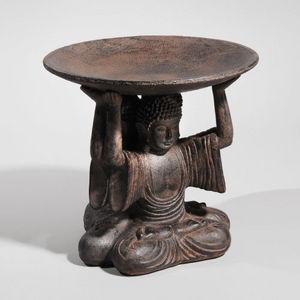 Maisons du monde - coupe triple bouddhas - Deko Schale