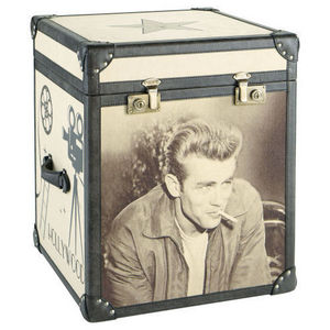 Maisons du monde - malle james dean celebrity - Kofferschrank