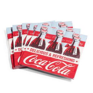 Maisons du monde - serviette coke x20 - Papierserviette