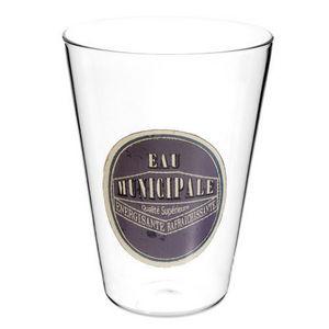 Maisons du monde - gobelet eau municipale - Whiskyglas