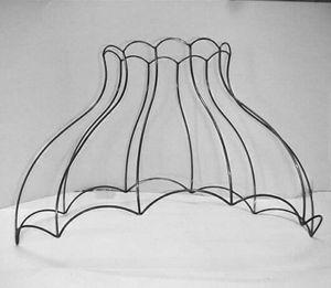 Atelier Allibert - tulipe - Lampenschirm Gerüst