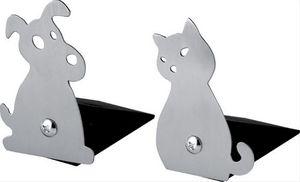 Balvi - duo de cale-portes design chien & chat - Kinder Buchstützen