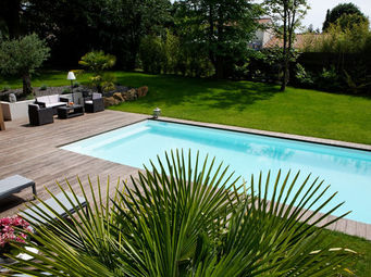 CARON PISCINES - bassin de nage - Traditioneller Swimmingpool