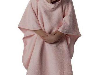 SIRETEX - SENSEI - poncho enfant en forme de souris rose - Kinder Bademantel