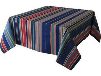 Les Toiles Du Soleil - nappe carrée cabanon roy - Viereckige Tischdecke