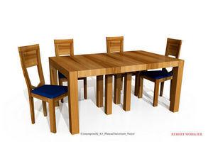 Rebert  mobilier -  - Ausziehbarer Tisch