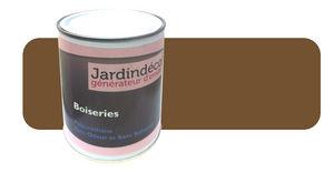Peinturokilo - peinture brun olive pour meuble en bois brut 1 lit - Holzfarbe