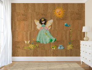 PEARL CORK - fairy light - Kindertapete