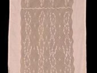 Coquecigrues - rideau à cantonniçre soir d'ètè lilas - Fertigvorhänge