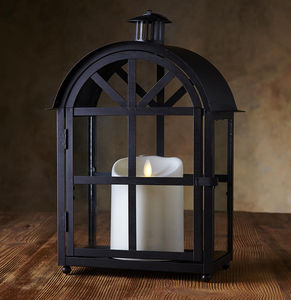 LUMINARA - crescent lantern - Led Kerze