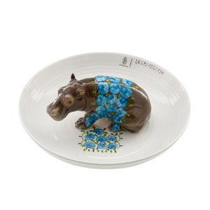 Nymphenburg - coupe hippopotame - Deko Schale