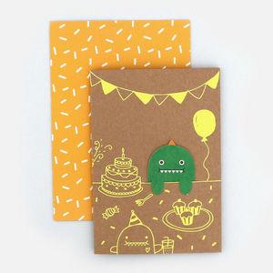 NOODOLL -  - Geburtstagskarte
