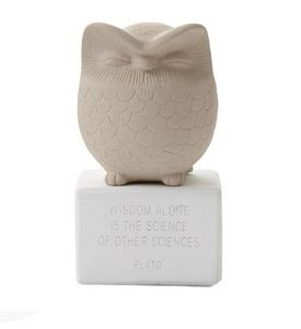 SOPHIA - owl medium - Tierskulptur