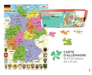 LES PARISETTES - allemagne - Puzzle