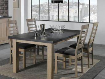 Ateliers De Langres - table whitney - Rechteckiger Esstisch