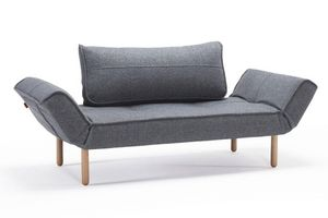 INNOVATION - canape lit design zeal gris granite convertible 20 - Klappsofa