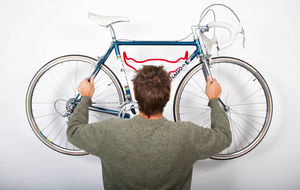 ROSS DOLTON - bull bike rack - fur -