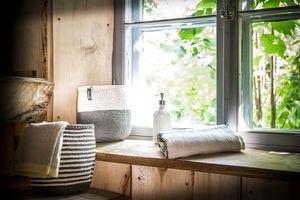 MIFUKO - mifuko kiondo blanc et gris - Badezimmer Korb