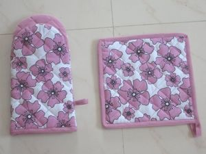 ITI  - Indian Textile Innovation - flowers - Ofenhandschuh