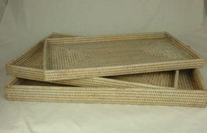 BaolgiChic - lot de 3 plateaux - Tablett