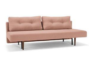 WHITE LABEL - innovation living canape lit design recast plus ro - Klappsofa