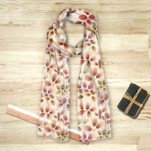la Magie dans l'Image - foulard beautiful flowers - Vierecktuch
