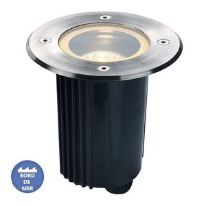 SLV - spot encastré inclinable dasar inox 316 12v ip67 d - Einbau Bodenspot