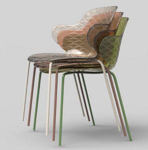 Calligaris - saint-tropez - Stapelbare Stühle