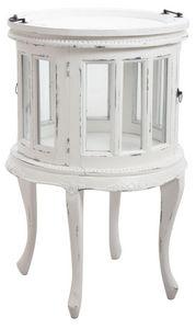 Aubry-Gaspard - meuble range-bouteilles avec plateau - Flaschenregal