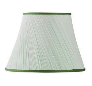 MON ABAT JOUR - plissé biais mousseline: - Konischer Lampenschirm